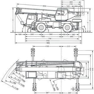 Liebherr 25 тонн LTM 1025
