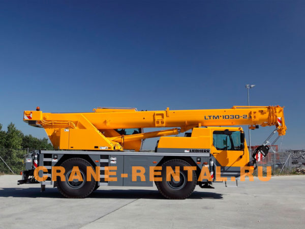Liebherr 35 тонн LTM 1030