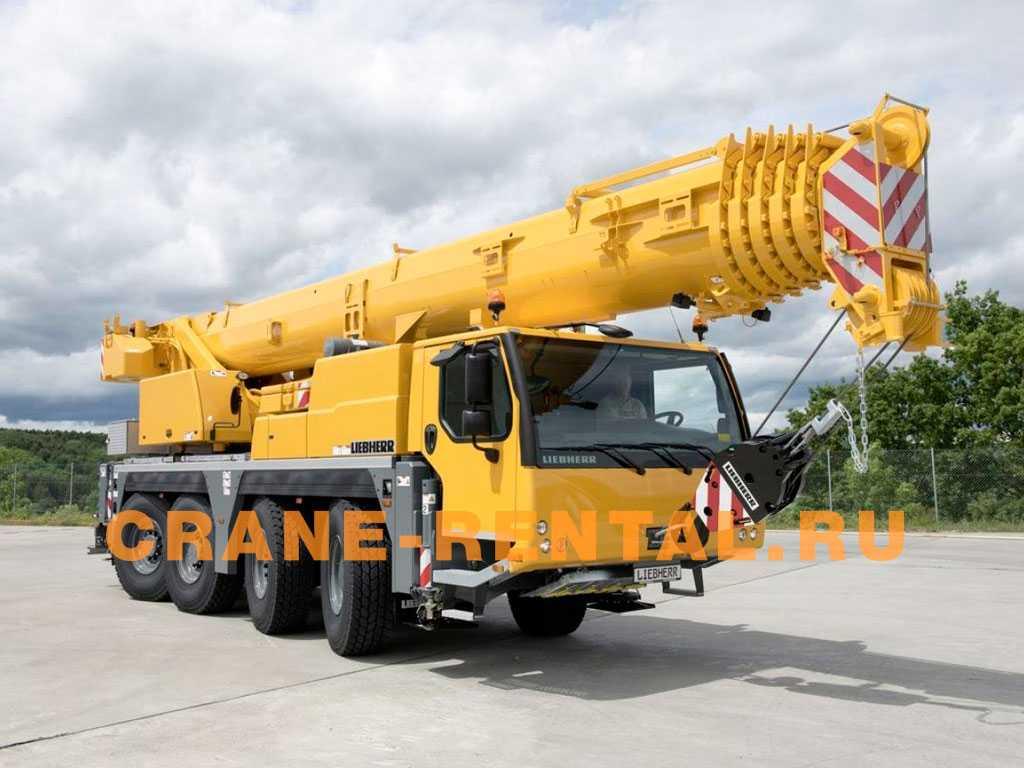 Liebherr 70 тонн LTM 1070