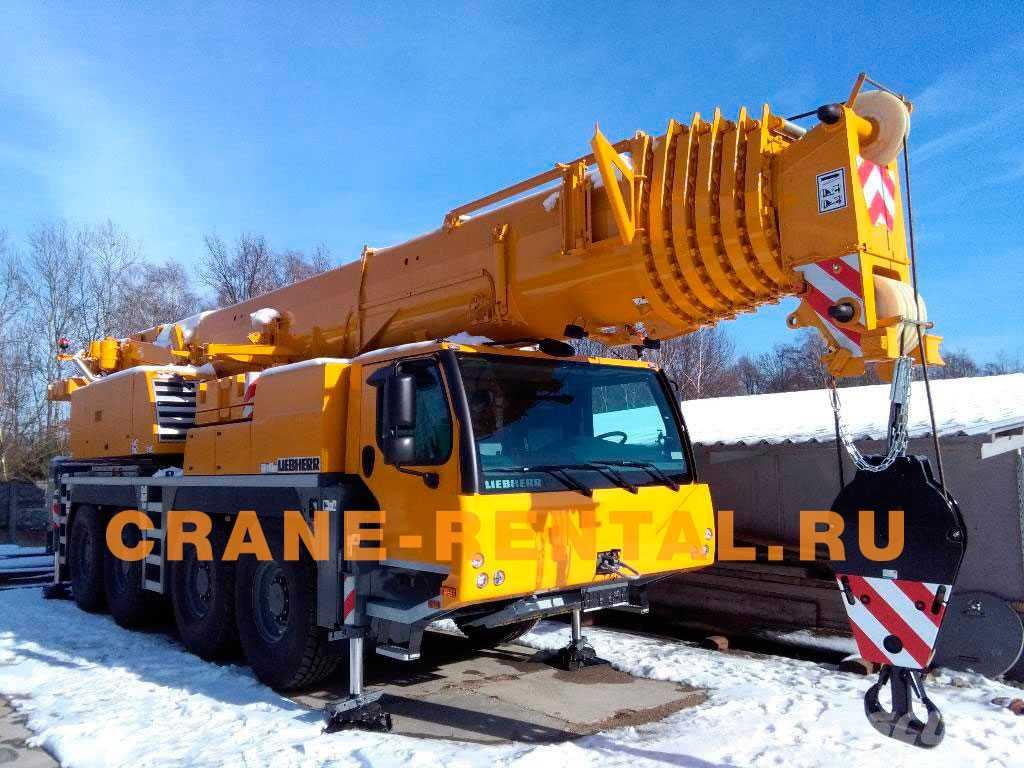 Liebherr 100 тонн LTM 1100